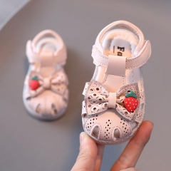 Strawberry Soft-soled Toddler Sandals