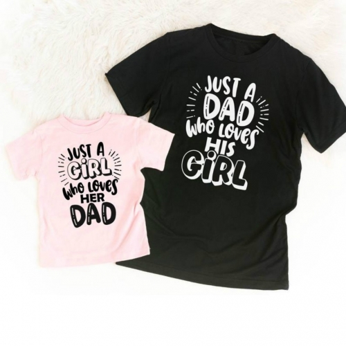 [Pre-sale] Dad & His Girl Love Matching Tees